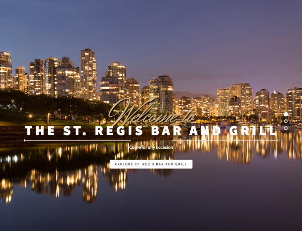 St Regis Bar and Grill
